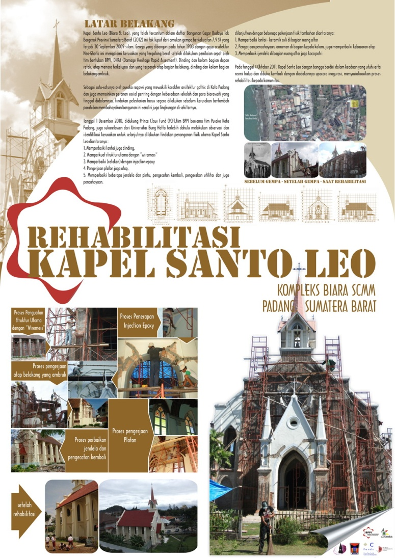 Rehabilitation of St Leo Chapel in Padang - West Sumatera Post Earthquake 2009